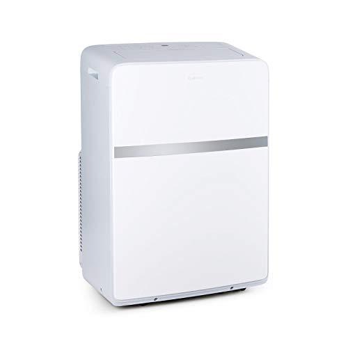 KLARSTEIN Ion Breeze - Climatiseur mobile, 9 000 BTU/2,6 kW, Débit d'air: 410 m³/h max, Pièce de 26 à 44 m², Technologie SilverIon, 5 modes, 4 vitesses, Minuterie, 16 à 32 °C - Blanc