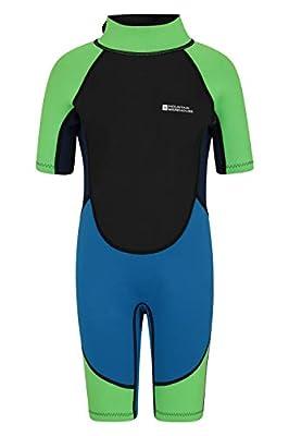 Mountain Warehouse Junior Shorty Wetsuit-2.5mm, Neoprene Kids Wetsuit