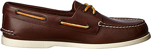 Sperry Herren A/O 2-Eye Lea. Classic Bootsschuhe, Braun (BROWN), 47 EU