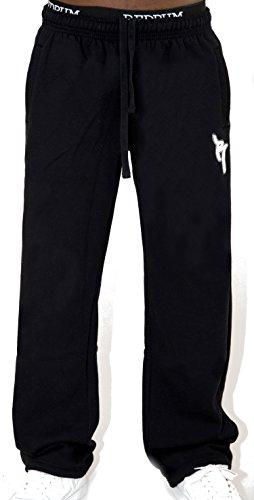 REDRUM Jogginghose Casual Streetwear Modell Bronx (Schwarz/Weiß, Größe S)
