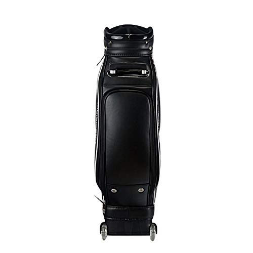 For Sale! Jia Jia- Golf Bag, Golf Club Bag Tugboat Bag Portable Capacity Black 126cmX23cm Golf Clu...