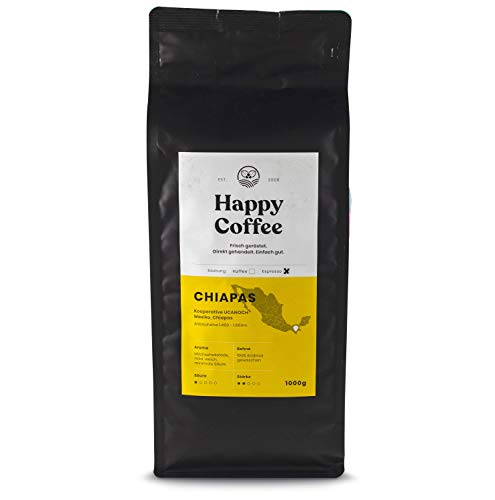 Happy Coffee Bio Espresso haricots