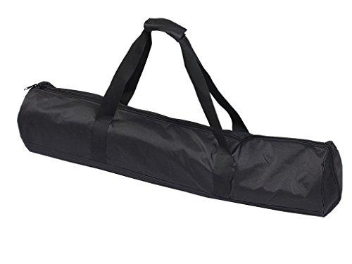 (安心舗) 三脚 撮影機材 楽器 保護バッグ 長いもの 運搬バッグ キャリーバッグ 収納バッグ 厚めのクッション入り 旅行 運動会 (120cm)