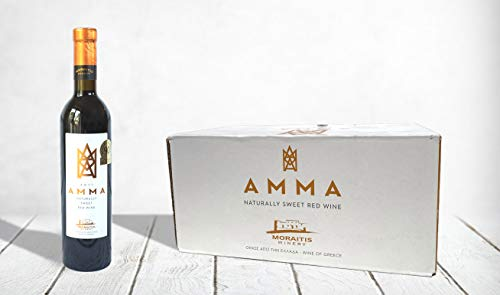 Photo of Greek Fine Wine, Moraitis Amma, Naturally Sweet Red Wine, 100% Mandilaria P.G.I Cyclades, 2011 (Full Case 6x500ml Bottles)