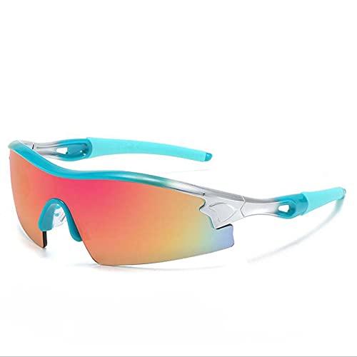 Litcom Gafas De Sol Reflectantes De Película Color Deslumbrante Deportes Al por Mayor Hombres Y Mujeres Ciclismo Al Aire Libre Gafas De Sol Antivaho