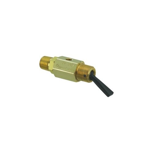 "Clippard TV-3MFP 3-Way Toggle Valve, N-C, Momentary Open Toggle, Plastic Toggle, 1/8"" NPT, 4.0 SCFM at 50 PSIG, 6.8 SCFM at 100 PSIG"
