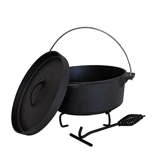 TAINO Dutch Oven Gusseisen-Topf Dopf...