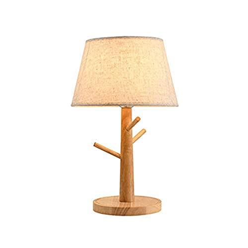 Lámpara de noche lámpara de mesa lámpara de mesa de tela minimalista lámpara de noche de noche moderna luz de mesa de noche lámpara de escritorio con tela urg de sombra kshu
