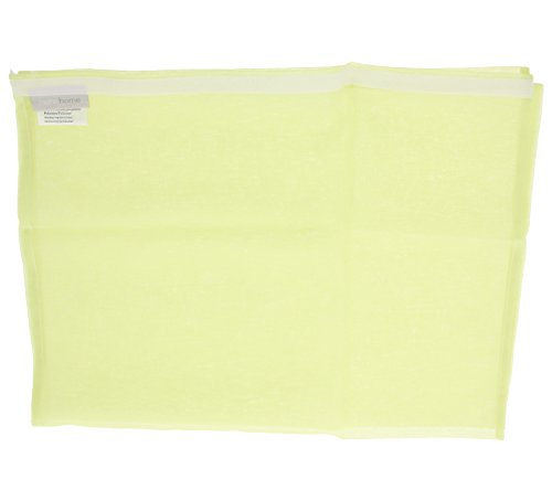 heine home Schiebevorhang in halb transparentem Stoff Vorhang Gardine Gelb 175x57 cm