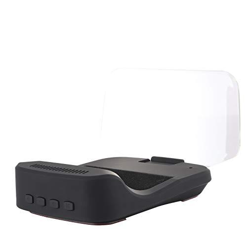 Wosune OBD HUD, Accesorio electrónico para automóvil Head Up Head Up Display, para exhibición de automóvil
