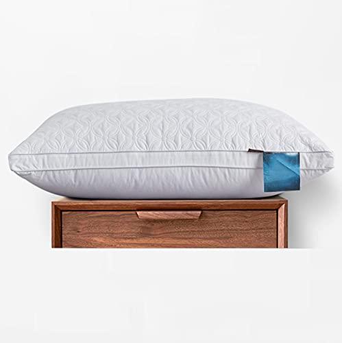 BeAUZQ Almohadas de Cama, Paquete de 2 Almohadas de Calidad de Hotel, tamaño King, Almohadas alternativas hipoalergénicas para Personas Que Duermen con la Espalda y el estómago,Queen