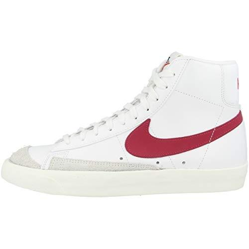 Nike Blazer Mid '77 VNTG, Zapatillas de básquetbol Hombre, White/Worn Brick/Sail, 44 EU