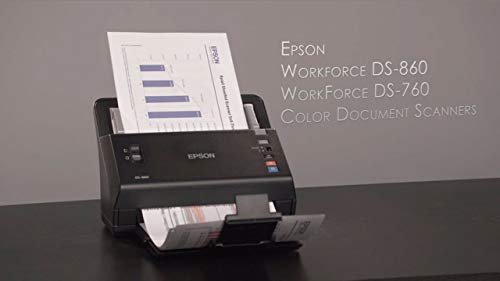 Great Price! Epson WorkForce DS-860 Sheetfed Scanner