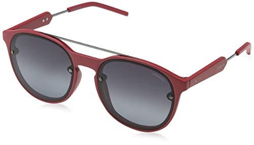 Polaroid PLD 6020/S WJ TN6 55 Gafas de Sol, Rojo (Red Ruthen/Grey SF Pz), Unisex Adulto