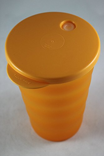 Tupperware Junge Welle Trinkhalmbecher orange 330ml