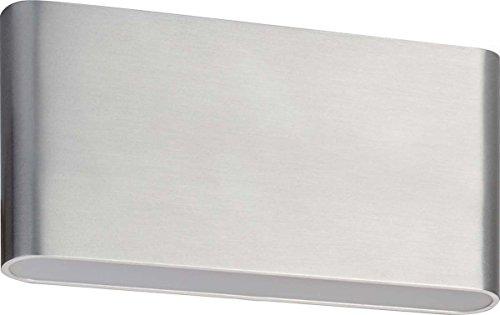 Brumberg LED Wandleuchte, 2 x 5 W, 9 x 17 cm, aluminium 10046253