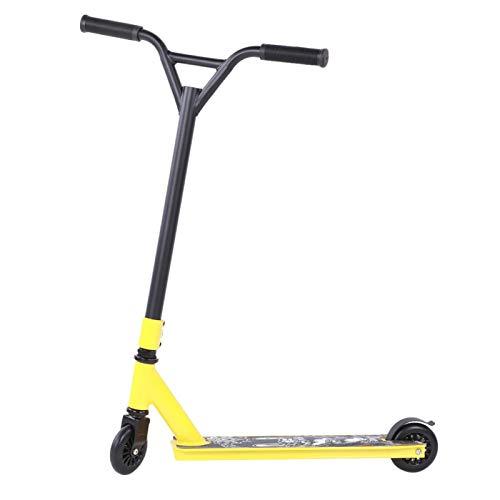 Aoutecen Scooter Profesional Scooter Estable de 2 Ruedas Scooter Duradero para Transferencia de Trabajo