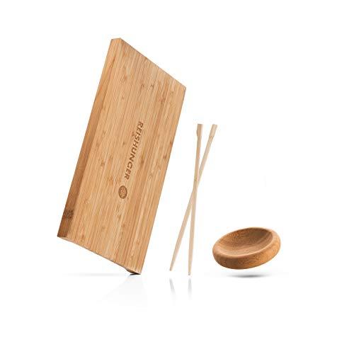 Reishunger - Kit para Servir Sushi (4 Piezas, para 2 Personas) de bambú Amantes del Sushi
