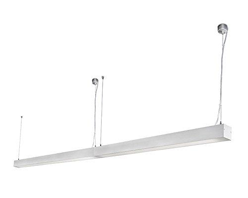 Ore 040405603 projecteur Barcelona-Pendentif (Ampoule incluse) LED 26 W Injecté gris Aluminium