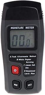 Tester Humidimètre d'humidité d'humidité du Bois Hygromètre 2 Broches Scanner