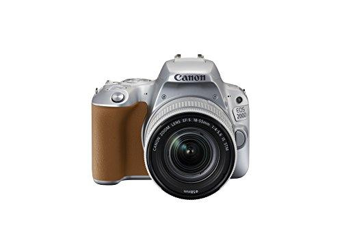 Canon EOS 200D EF-S 18 - 55 mm Digital SLR Camera - Silver