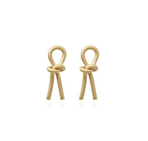 anaan Pendientes de Perlas largos mujer Aretes perlas de agua dulce de cobre 14k Chapado Oro pequeño Joyería Sin Níquel para Boda