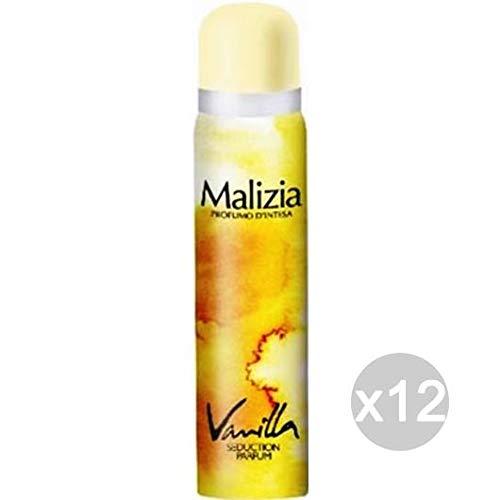 Lot 12 Malicieuse Déodorant Spray 100 Vanilla Femme – Soin et hygiène du corps