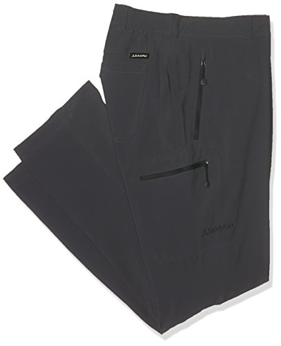 Schöffel Pants Koper W, warme und bequeme Wanderhose für den Winter, wasserabweisende Outdoor Hose für Männer mit weichem Futter Herren, charcoal, 56