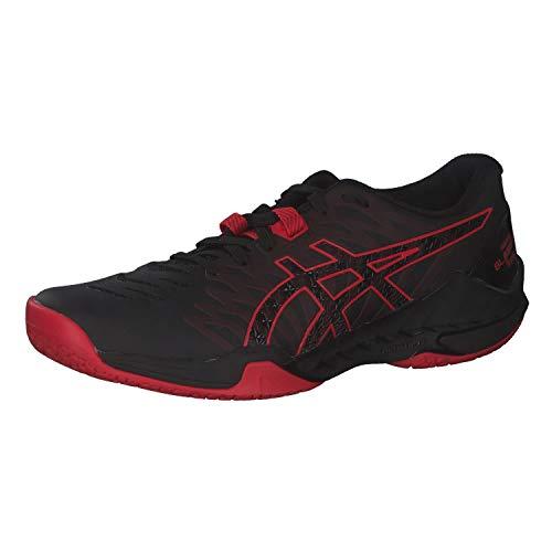 ASICS Herren Blast FF Handball Shoe, Black/Classic Red, 44 EU
