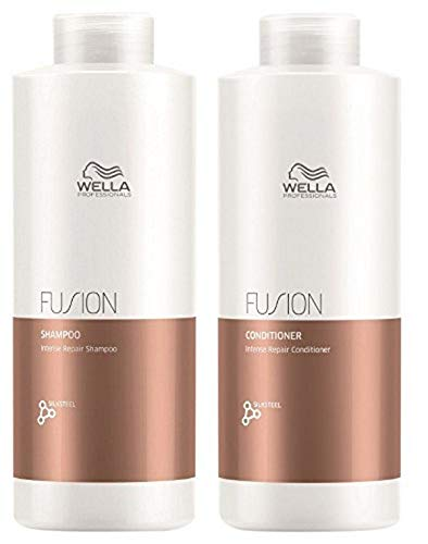 Wella Fusion Shampoo 1000 ml + conditioner 1000 ml
