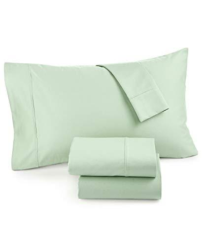 AQ Textiles Monroe 1000 Thread Count Egyptian Cotton Blend 4 Piece California King Extra Deep Pocket Sheet Set Green