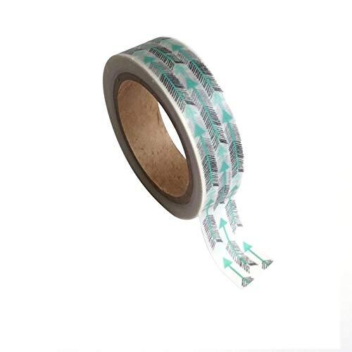 Youdoit Masking Tape flèches 1,5 cm x 10 m