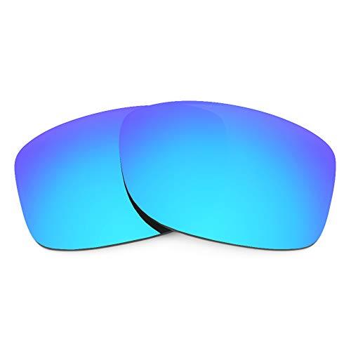 Revant Lentes de Repuesto Compatibles con Gafas de Sol Oakley Jupiter Squared, Polarizados, Azul Hielo MirrorShield