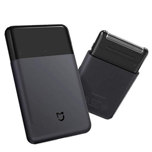 Xiaomi Portable Electric Shaver Set - Metal Electric Razor Trimmer USB Charging high speed motor,Black (Electric Shaver Set)