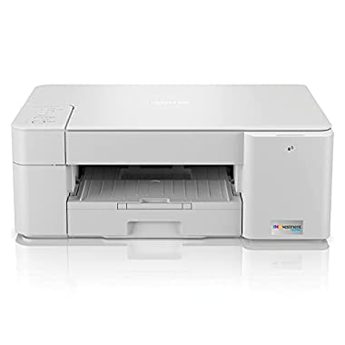 Brother MFC-J1205W INKvestment Tank Wireless Multi-Function Color Inkjet Printer with Up to 1-Year in Box,white