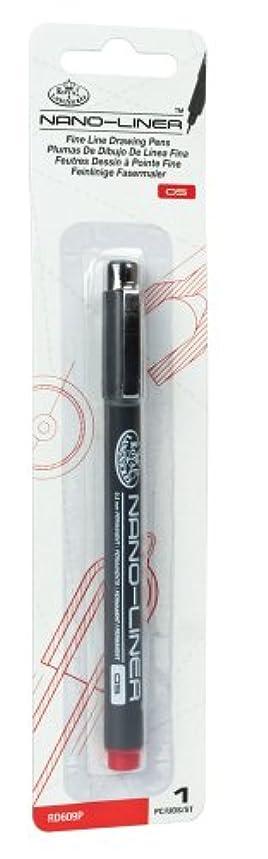 Royal & Langnickel Nano-Liner Drawing Pen, Size 05, Red
