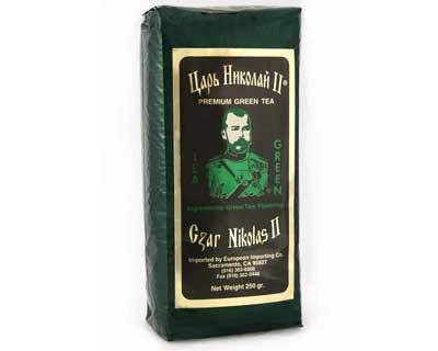 Tea Czar Nicolas II -Premium Green - 250 gr/8.8 oz by Russian Tea