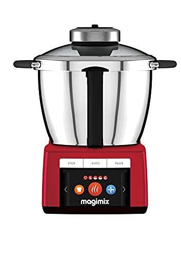 Magimix – Cook Expert 18904 Robot Cuiseur Multifonction, Rouge, FABRIQUE EN FRANCE