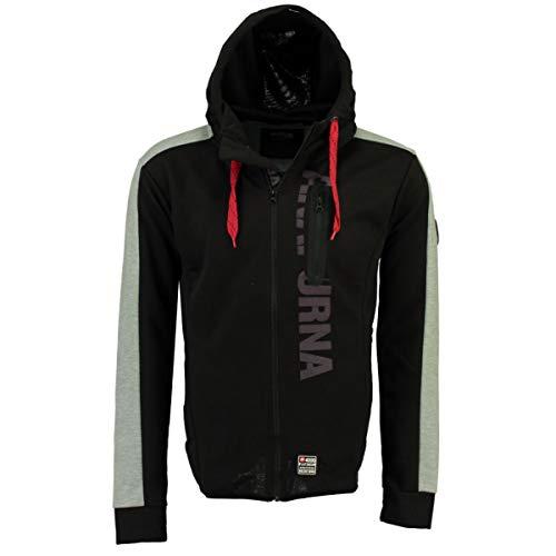 Anapurna Fernie Sweat-shirt à capuche pour homme avec fermeture Éclair