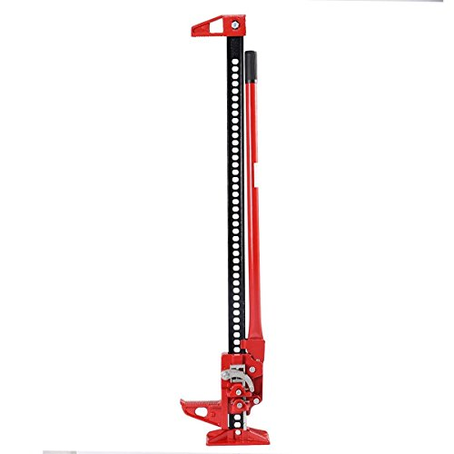 Goplus 48'(3.5 Ton) / 60'(3 Ton) Off Road Ratcheting Farm Jack Truck High Lift Bumper Tractor SUV (48')