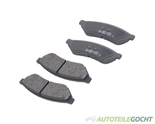 Set Icer Bremsbeläge Scheibenbremse System Sumitomo Hinten für CHEVROLET EPICA KL1 02-06 von Autoteile Gocht