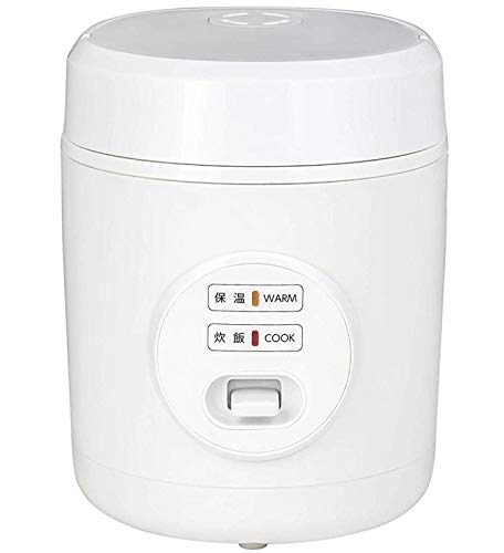 [山善] 炊飯器 0.5~1.5合 ひとり暮らし用 小型 ミニ ライスクッカー ホワイト YJE-M150(W) [メーカー保証1年]