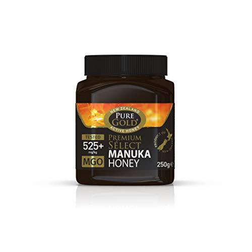 Pure Gold Premium Seleccione Miel de Manuka 525 Plus Mgo , 250G