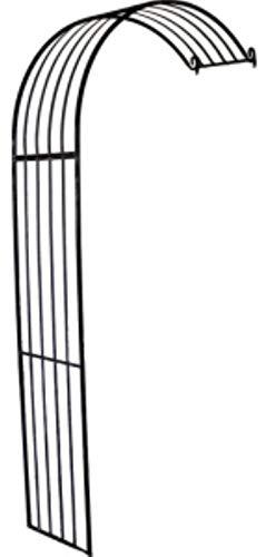 Rosenbogen Halbbogen aus Metall, Rankhilfe Pergola 77036