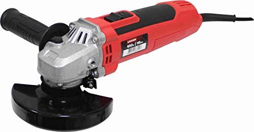 Mader Power Tools 63800 Amoladora 650W 115mm, Velocidad Variable, Interruptor Restart