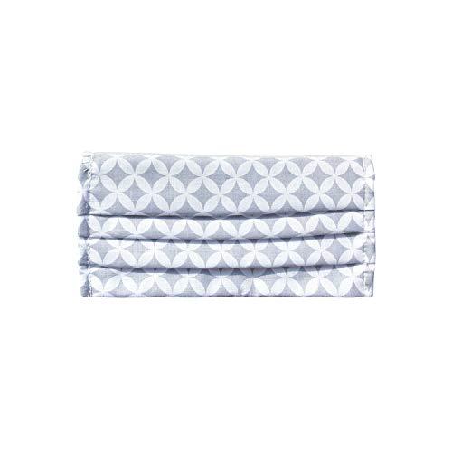 Mundschutz Maske, Kälteschutz Gesichtsmaske, Staubdichte Mäske, Anti-Beschlag Anti-Staub Maske für Radfahren, hergestellt in der EU (3, Sparklings/Grey)