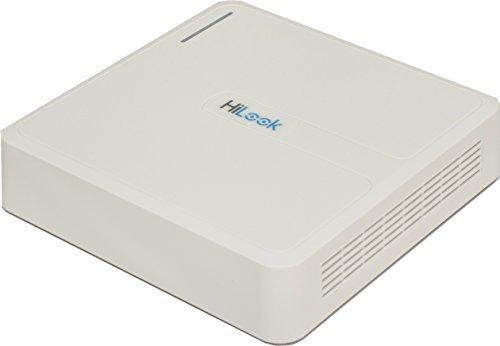 HiLook DVR-104G-F1 videograbador Digital Blanco – Capturadora de Video Digital (Blanco, 1920 x 1080…