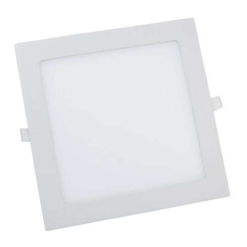 Lemonbest 18 Watt LED Panel Light, Square Recessed Lighting Fixture Kit, Warm White