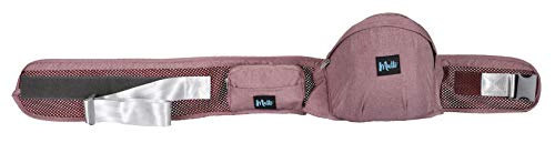MUTTI, Hipseat Asiento de Cadera - Marca EUROPEA | Hip Seat Taburete Baby Carrier Portabebes Ergonómico con NUEVA Superficie Anti-Deslizante y Doble Cinturón Transpirante y Fresco