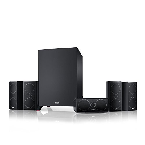 Teufel Consono 35 Mk3 5.1-Set Schwarz Heimkino Lautsprecher 5.1 Soundanlage Kino Raumklang Surround Subwoofer Movie High-End HiFi Speaker